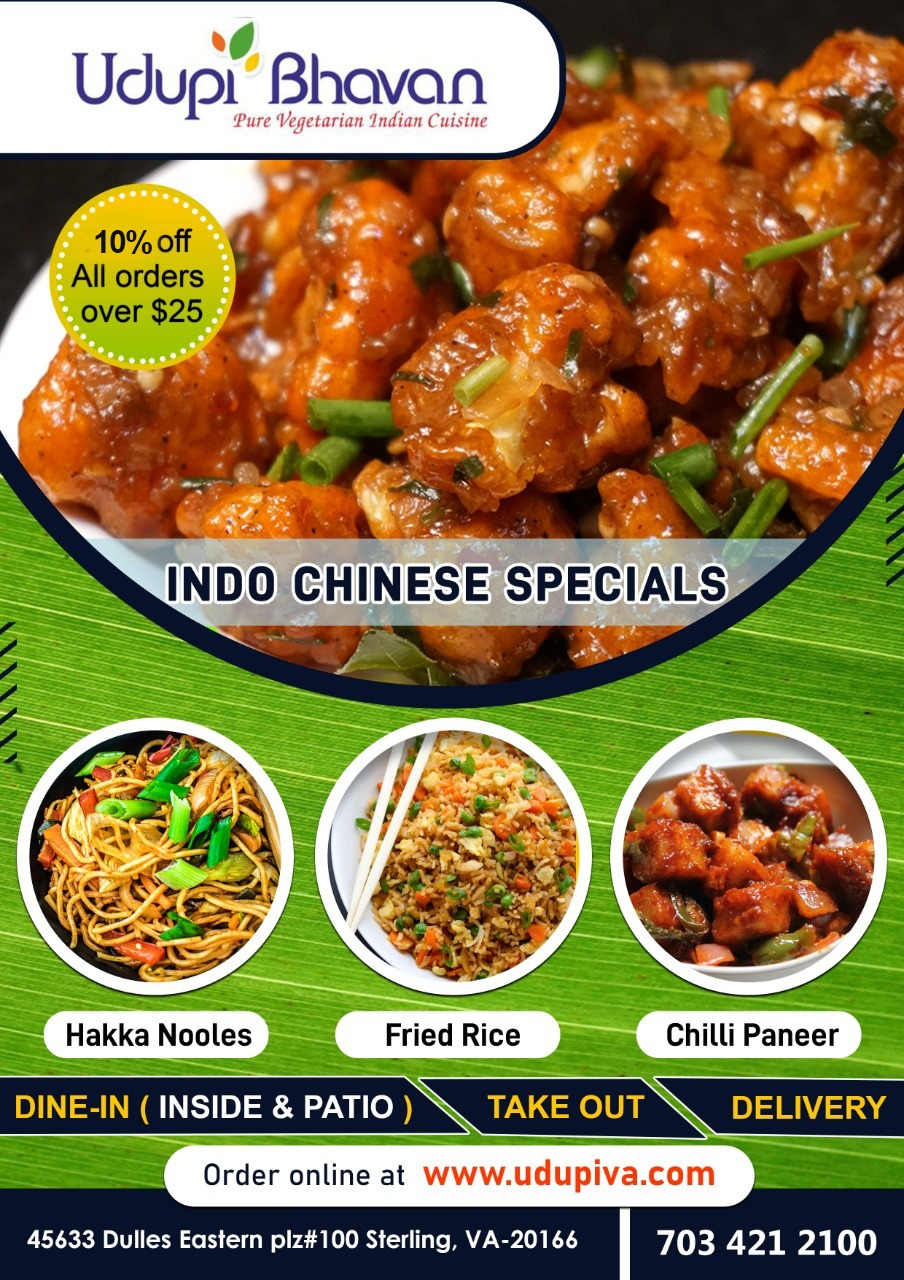Indo Chinese Specials